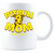 Pit Bull Mom Strong Coffee Mug - White