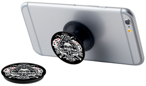 Skull With Cards Phone Pop Grips