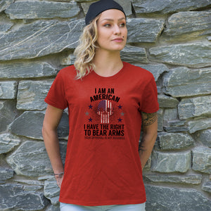 I Have The Right To Bear Arms Adult Unisex T-Shirt