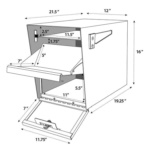 Package Master Specifications and Dimensions