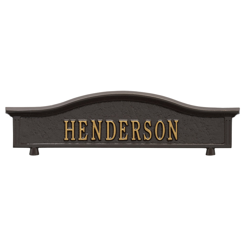Whitehall Personalized Two Sided Topper - MailboxEmpire