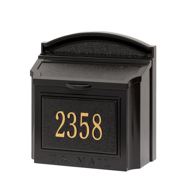 Whitehall Wall Mailbox Package - MailboxEmpire