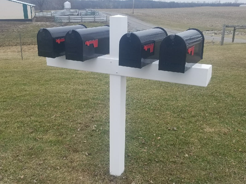 Handy Post for 4 - MailboxEmpire