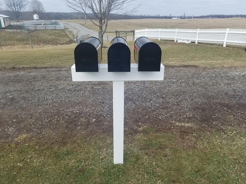 Handy Post for 3 - MailboxEmpire