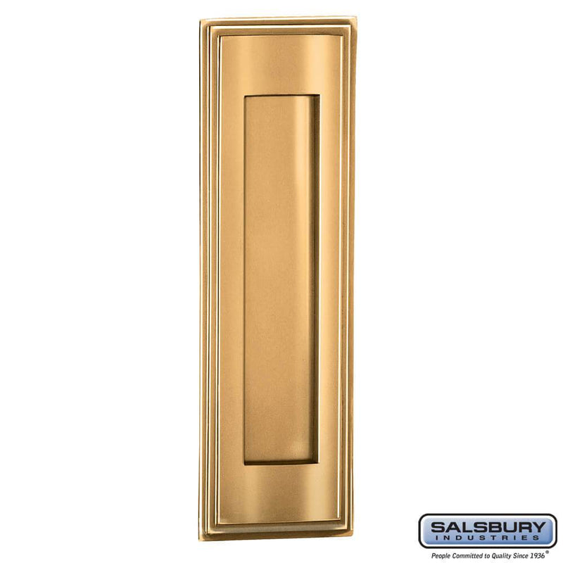 Mail Slot - Vertical  Finish - Brass