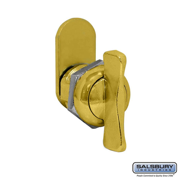 Thumb Latch - Option for Locking Column Mailbox and Modern Mailbox  Finish - Gold