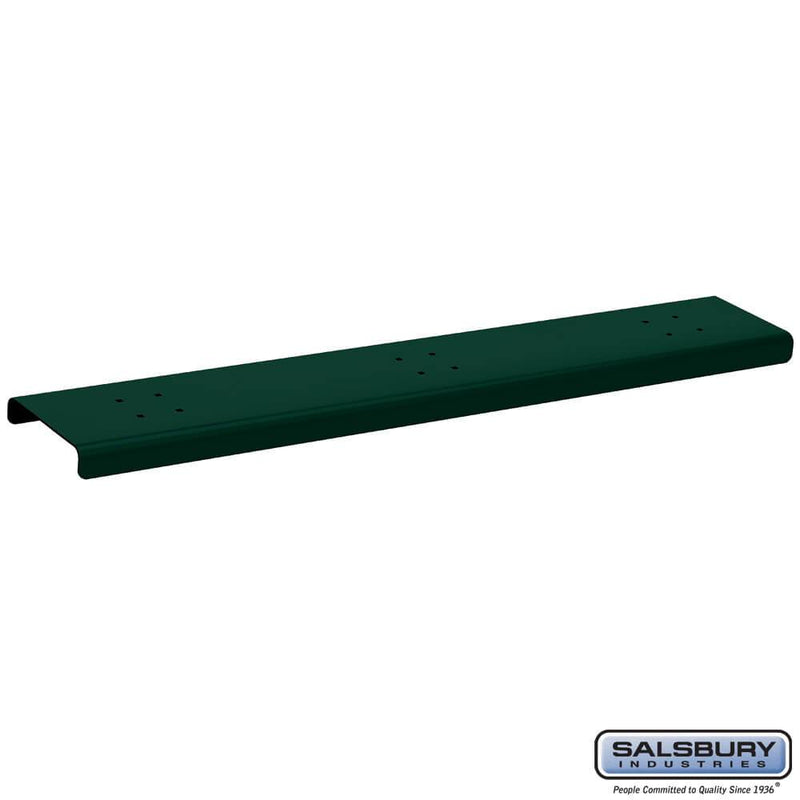 Spreader - 3 Wide - for Roadside Mailbox and Mail Chest  - Green