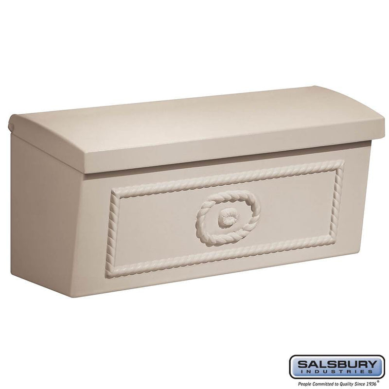 Townhouse Mailbox - Surface Mounted  - Beige