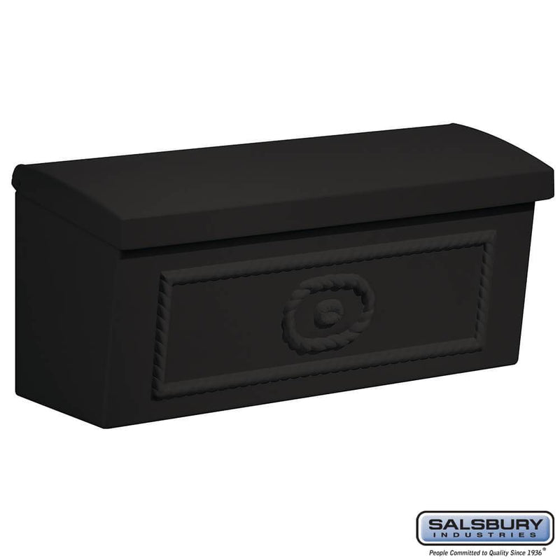 Townhouse Mailbox - Surface Mounted  - Black