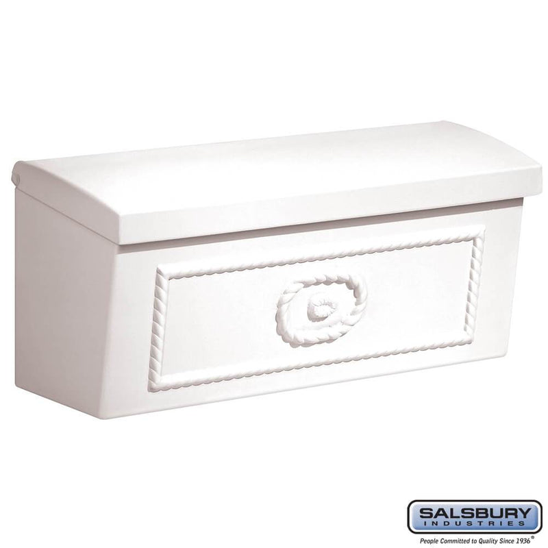 Townhouse Mailbox - Surface Mounted  - White