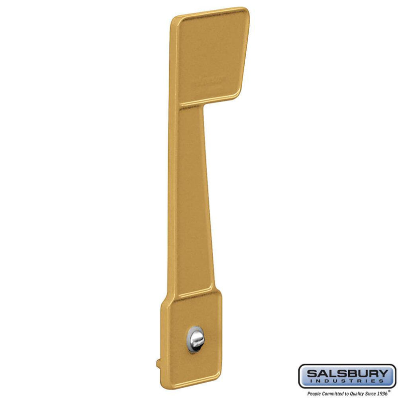 Replacement Flag - for Eagle Rural Mailbox  - Gold