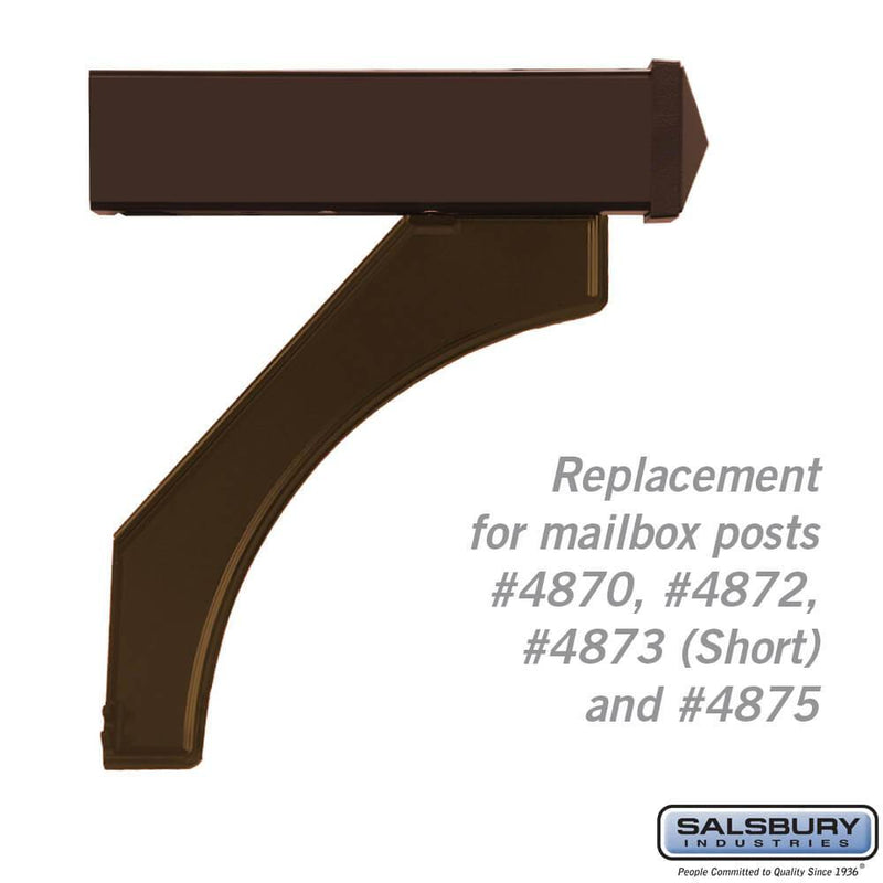 Arm Kit - Replacement for Deluxe Post for (1)  Mailbox  - bronze