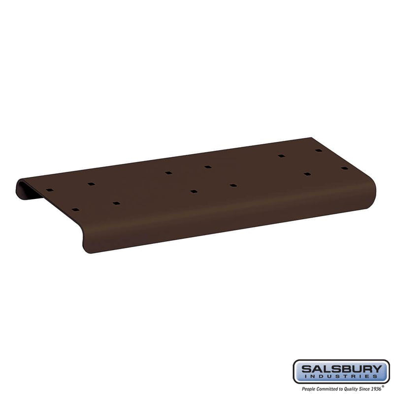 Spreader - 2 Wide - for Rural Mailboxes and Townhouse Mailboxes  - bronze