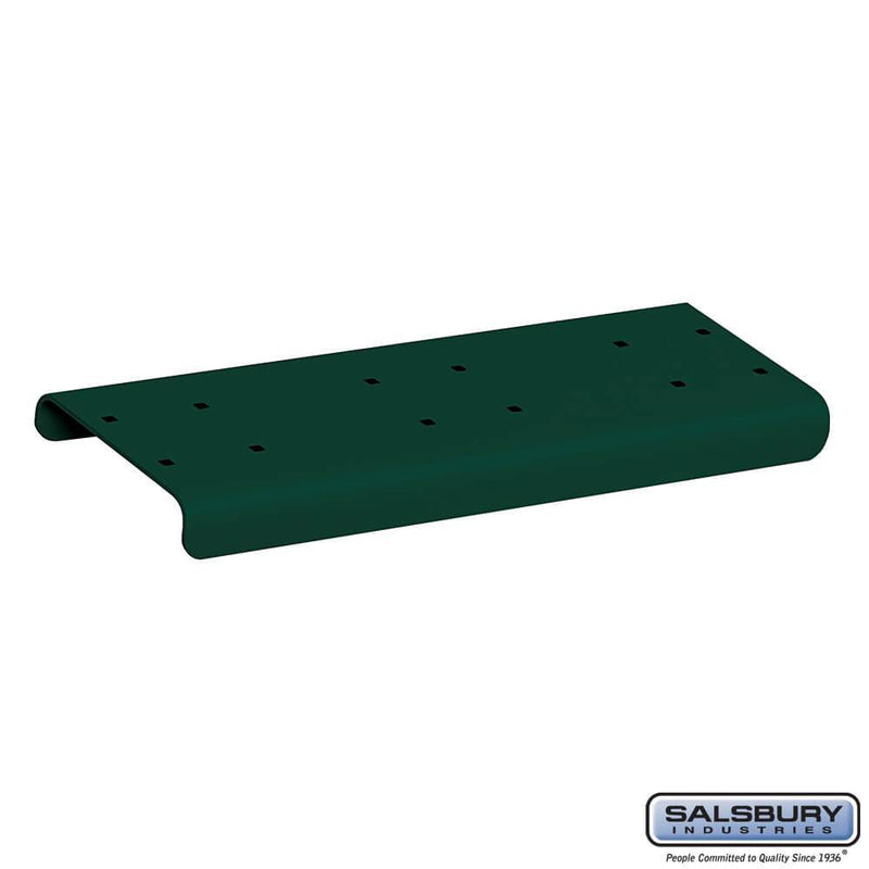 Spreader - 2 Wide - for Rural Mailboxes and Townhouse Mailboxes  - Green