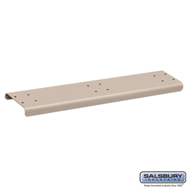 Spreader - 3 Wide - for Rural Mailboxes and Townhouse Mailboxes  - Beige