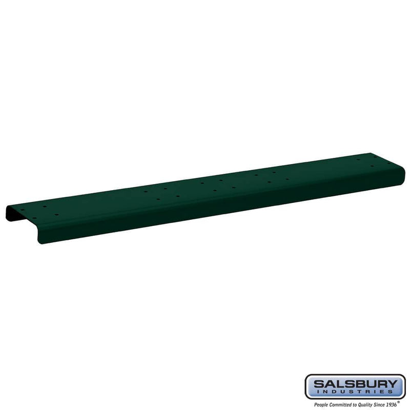 Spreader - 4 Wide - for Rural Mailboxes and Townhouse Mailboxes  - Green