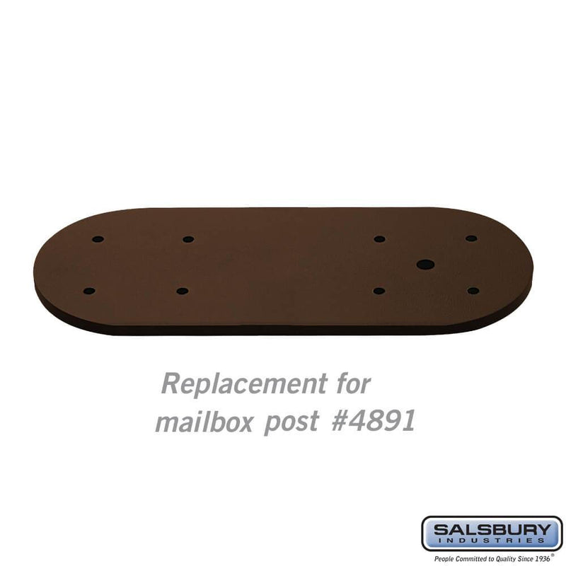 Arm Kit - Replacement for Classic Mailbox Post - 1 Sided  - bronze