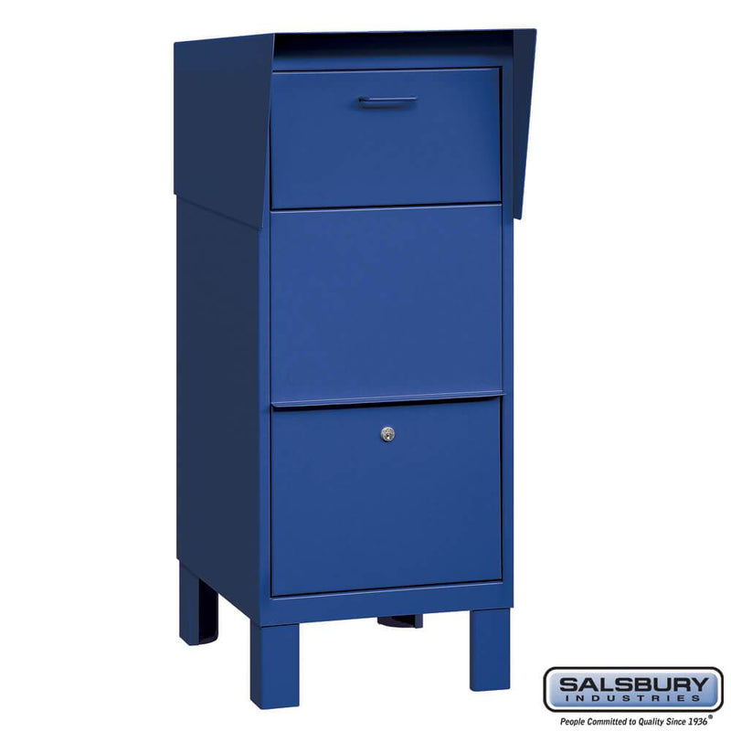 Courier Box  - Blue