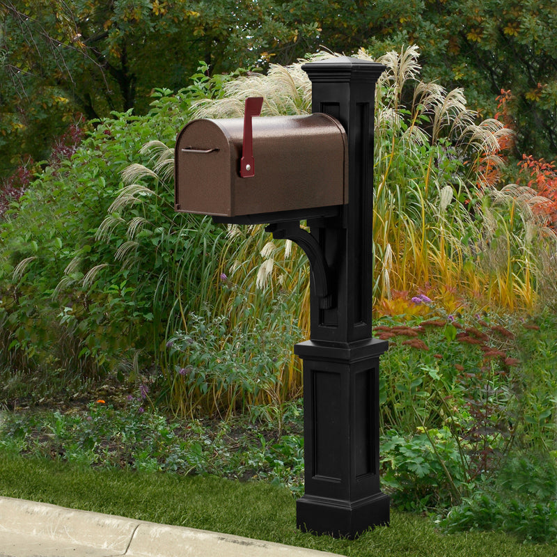 Mayne Newport Plus Mail Post - MailboxEmpire