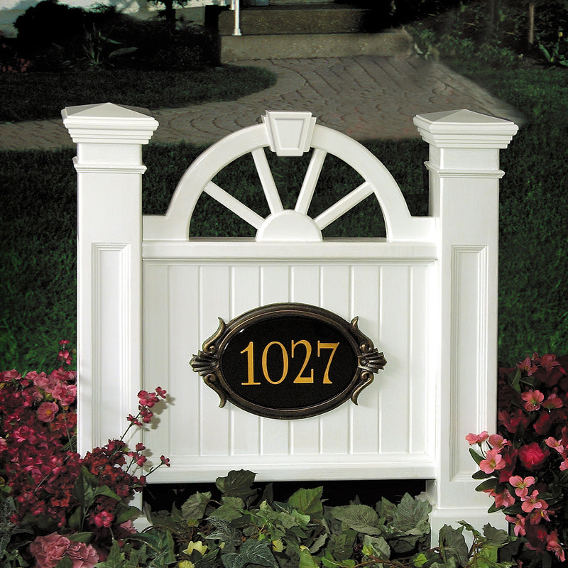 Mayne Winchester Address Sign - MailboxEmpire