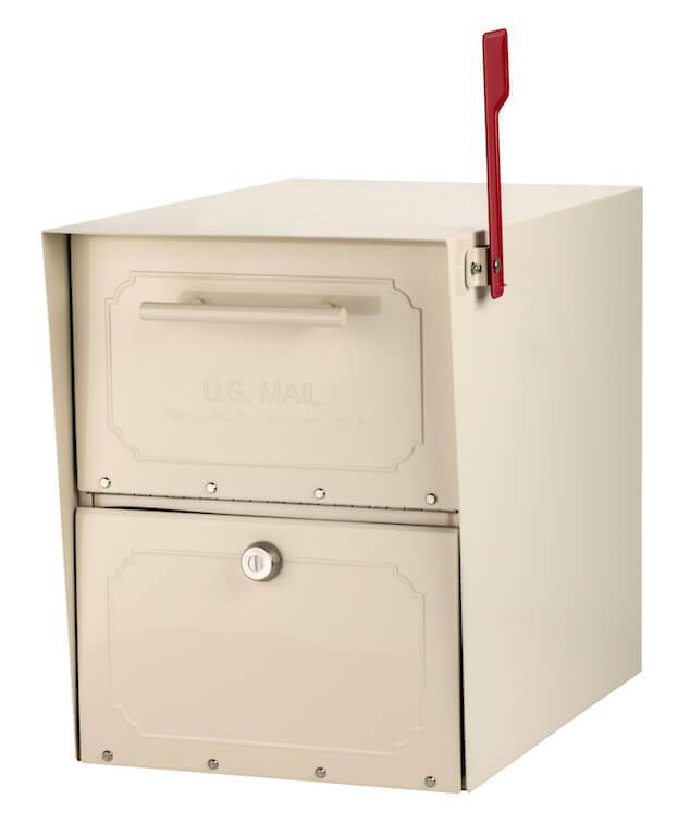 Architectural Mailboxes Oasis Classic Locking Post Mount Mailbox