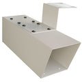 Mailboss Newspaper Holder  electro-galvanized welded steel - MailboxEmpire