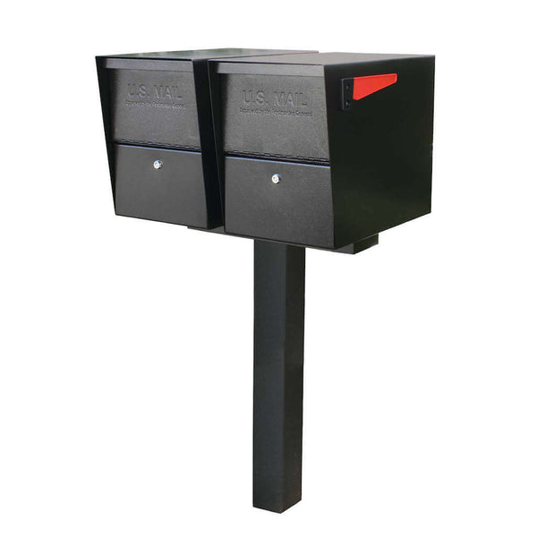 Mail Boss Double Package Master Locking Mailbox Post Package