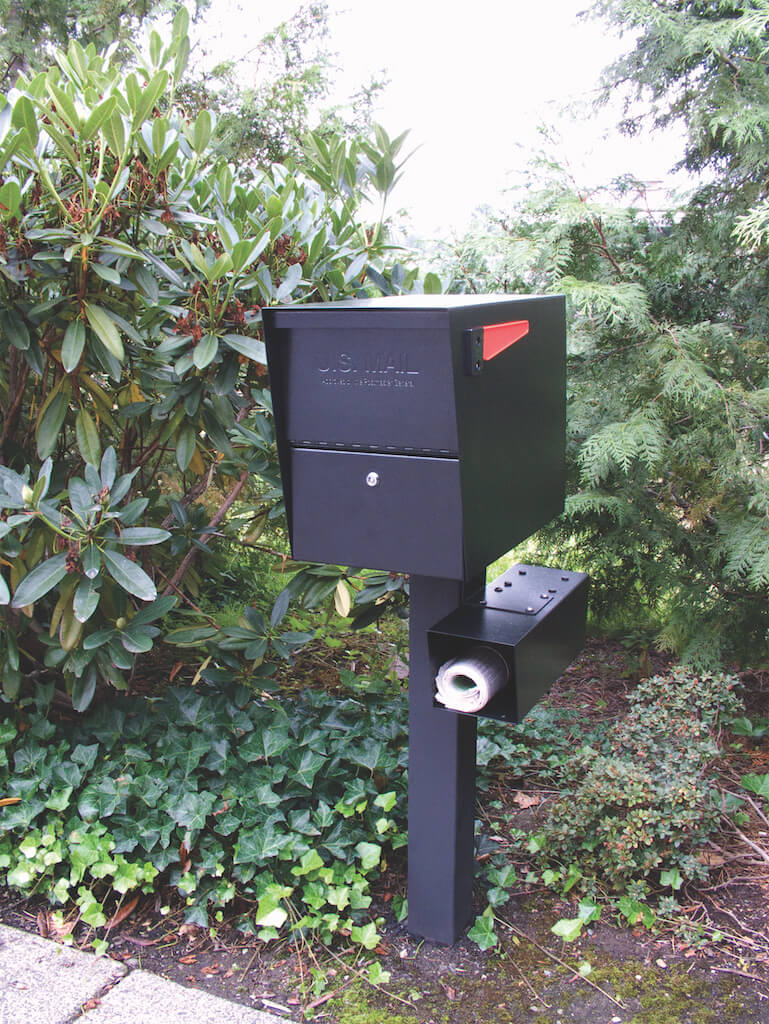 Mail Boss Package Master Locking Mailbox & Post