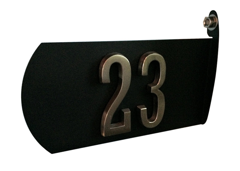 Two-Sided Spira Address Plate - MailboxEmpire