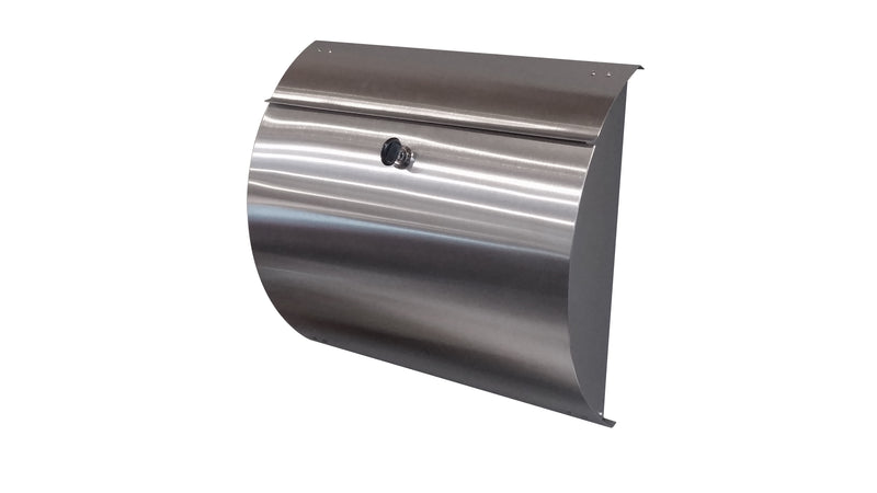Spira Unique Stainless Steel Wall Mount Mailbox - MailboxEmpire