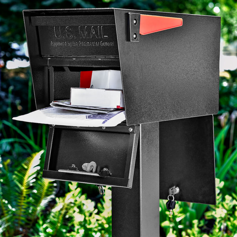 Mail Boss Mail Manager Street Safe Latitude - Front & Rear Access