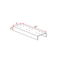 Mailboss 2-Box Spreader Bar  steel - MailboxEmpire