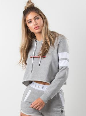 RYDERWEAR CALI CROPPED HOODIE - ExtremeNutritionSA