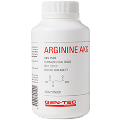 Gen Tec Arginine AKG Pump Supplement - ExtremeNutritionSA