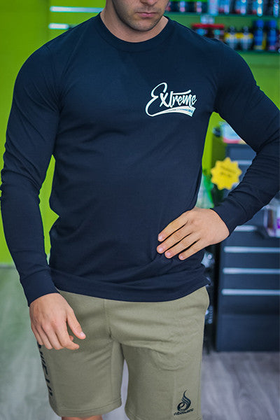 EXTREME SCRIPT LONG SLEEVE BLACK - ExtremeNutritionSA
