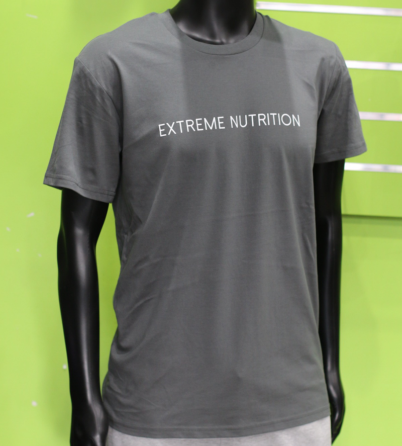 EXTREME STREET TEE CHARCOAL - ExtremeNutritionSA