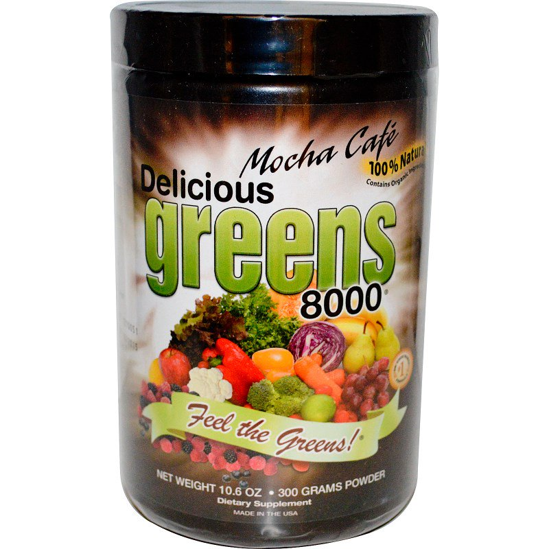 Greens World Delicious Greens 8000 - Chocolate & Mocha - ExtremeNutritionSA