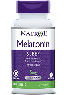 Natrol, Melatonin, Time Release, Sleeping Aid - ExtremeNutritionSA