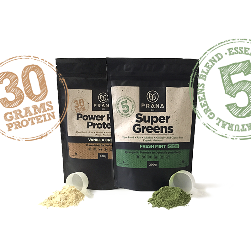 Power Plant Protein & Super Greens Combo - ExtremeNutritionSA