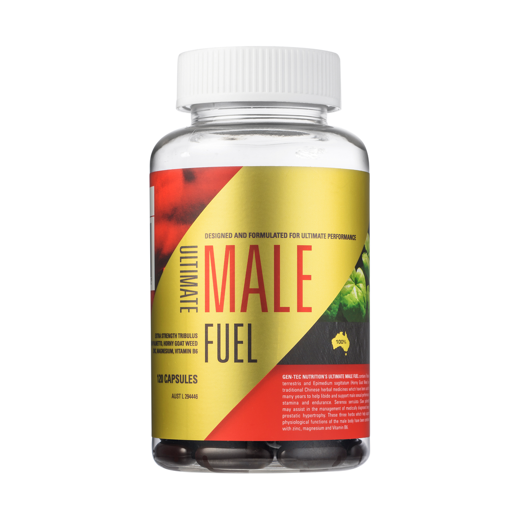 Gen-Tec Male Fuel Tablets - ExtremeNutritionSA