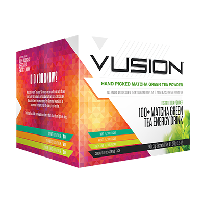 Vusion Green Tea 60 serve - ExtremeNutritionSA