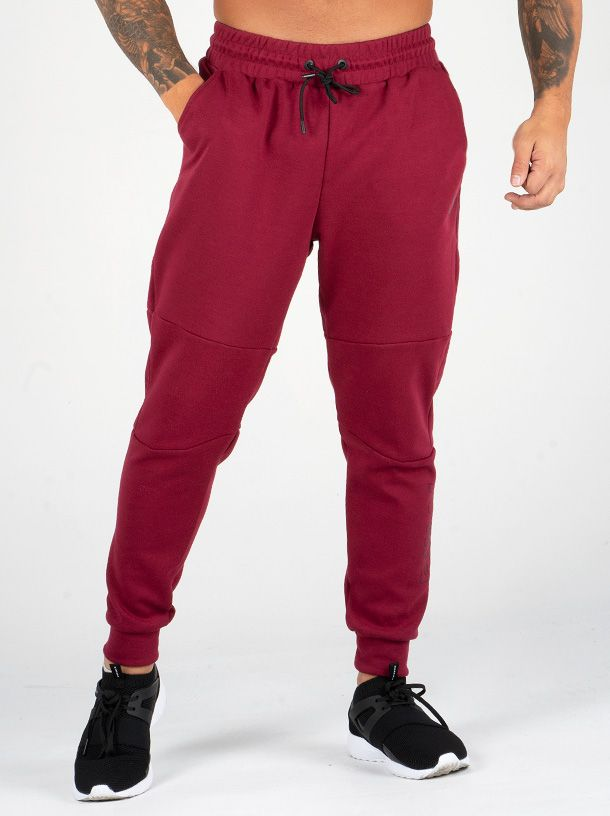RYDERWEAR EASE TRACK PANTS BURGANDY - ExtremeNutritionSA