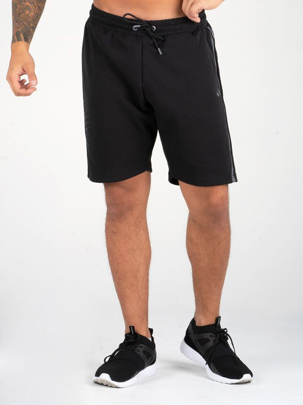 RYDERWEAR EASE TRACK SHORTS BLACK - ExtremeNutritionSA