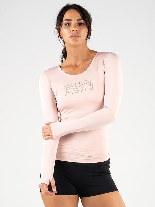RYDERWEAR CUT OUT LONG SLEEVE TOP - ExtremeNutritionSA