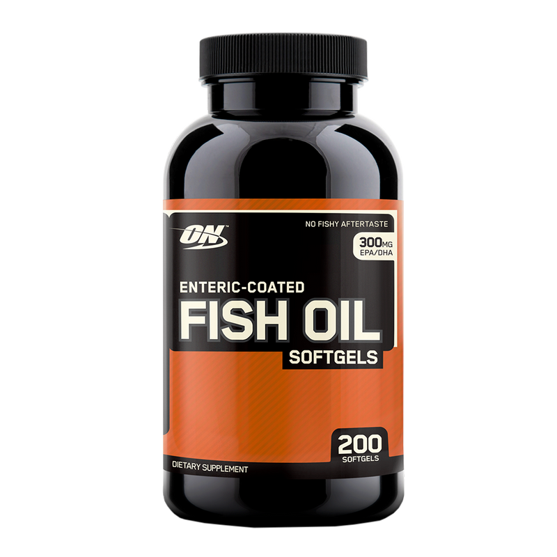 Optimum Nutrition ENTERIC COATED  FISH OIL SOFTGELS - ExtremeNutritionSA