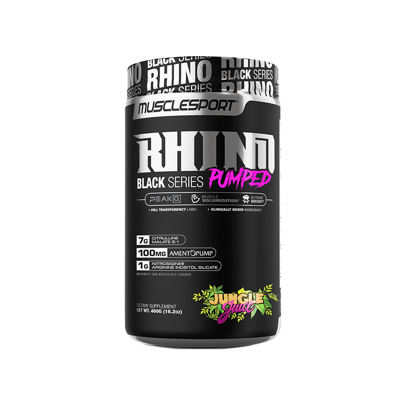 Rhino Black Series Pumped - ExtremeNutritionSA