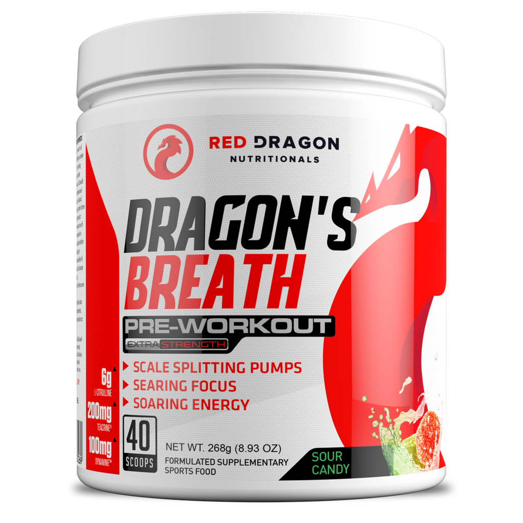 Dragon's Breath Pre Workout - ExtremeNutritionSA