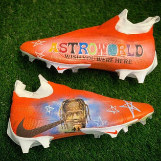 Jarvis Landry Travis Scott Astroworld Cleats