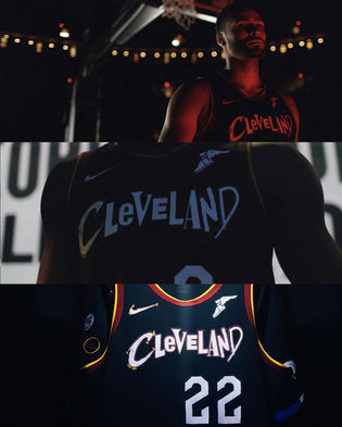 "Cavs ""City Edition"" Jersey Pays Homage To Rock & Roll Hall of Fame"
