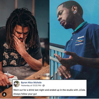 NicX Hits the Studio w/ J. Cole